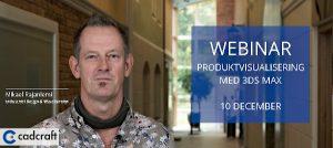 Webinar: Produktvisualisering med 3ds Max