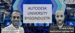 webinar autodesk university byggindustri