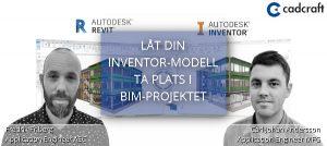 webinar låt din inventormodell ta plats i bim-projektet